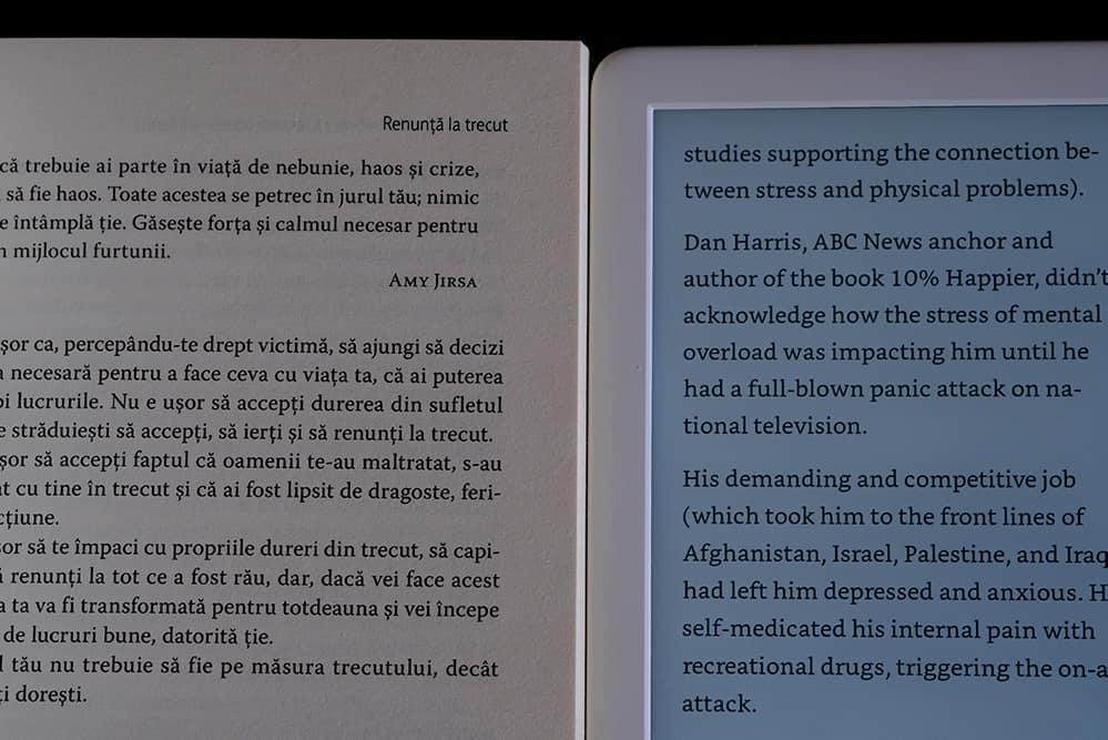 Kindle 2019 vs carte