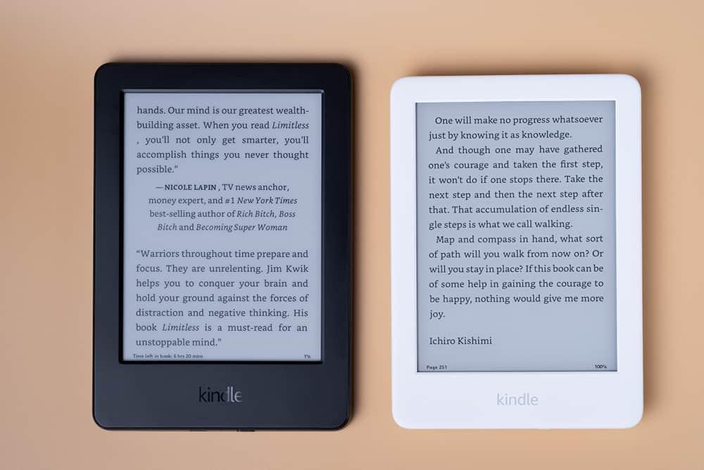 Kindle 2019 vs Kindle 2014